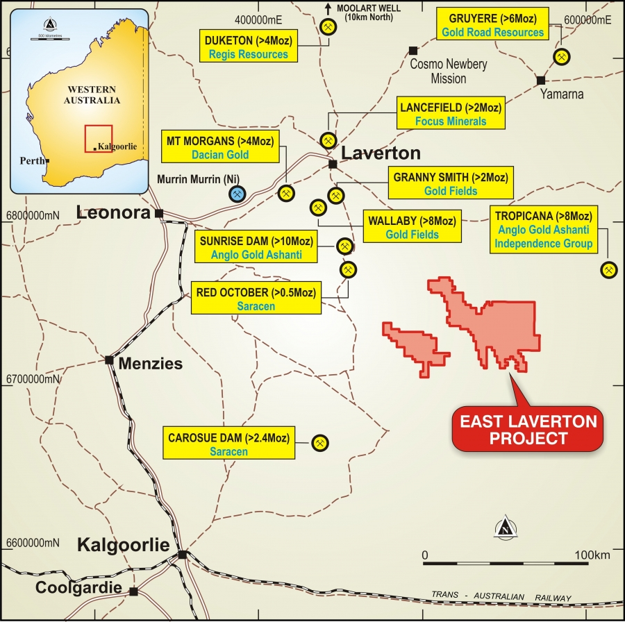 Mine Site Map Example: St George Mining Limited - A Nickel And Gold